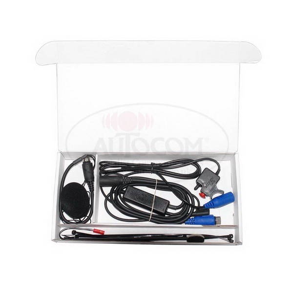 AUTOCOM Kit-21 Portable zend kit met headset, Kenwood